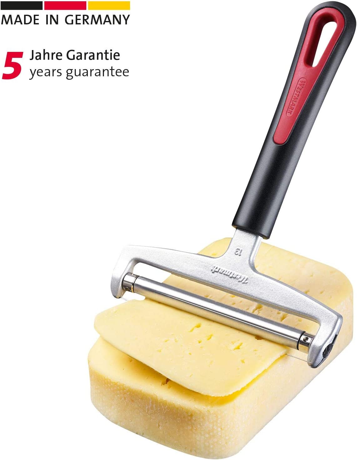 Westmark Special Gallant Cheese Slicer, one size, Red/Black