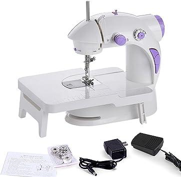 ABS Mini máquina de Coser hogar Dispositivo programas – 202 Doble ...