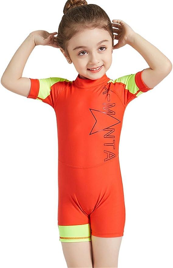FEESHOW Baby Jungen Kleinkind Einteiler Hai Muster UPF 50 Rash Guard Badeanzug Kinder Badeanzug