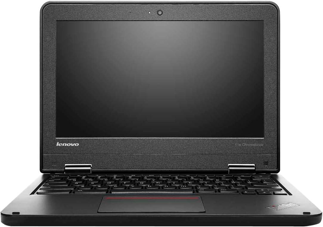 """Lenovo 11.6"""" ThinkPad 11e Chromebook 20Du, 4 GB RAM, 16 GB SSD, Intel HD Graphics, Black (20DU0009US)"""