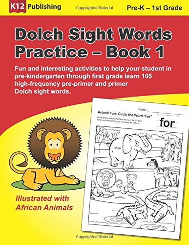 Amazon.com: Dolch Sight Words Practice - Book 1: Fun and ...