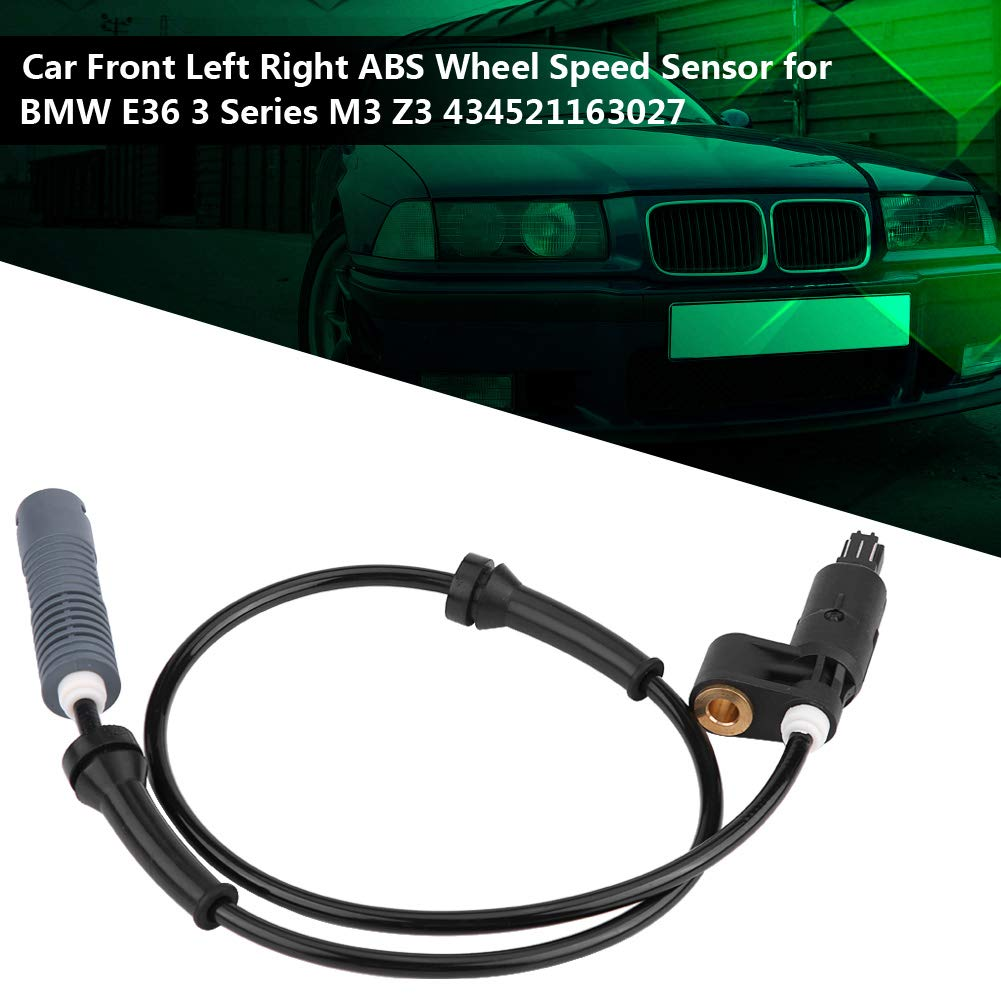 Car ABS Wheel Speed Sensor Front Left /& Right Wheel Speed Sensor Wiring Harness for E36 3 Series M3 Z3 434521163027