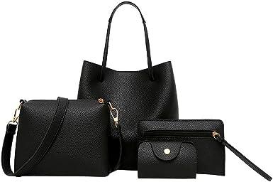A Women Messenger Shoulder Bag DZT1968/® Leather Satchel Handbag Tote Hobo Messenger