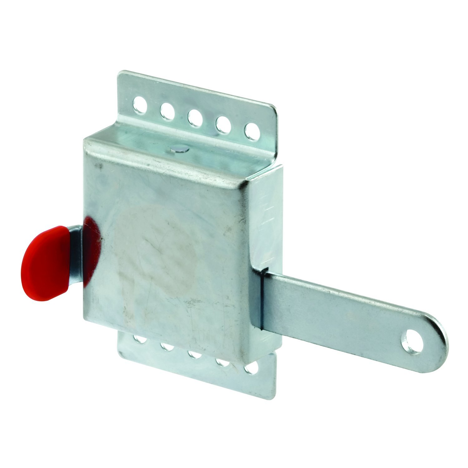 Prime-Line GD 52118 Inside Deadlock – Heavy Duty Galvanized Steel Housing, Fits Most Garage Doors for Extra Protection as a Security Lock - 7/8 x 1/8, Steel PRIME LINE PRODUCTS