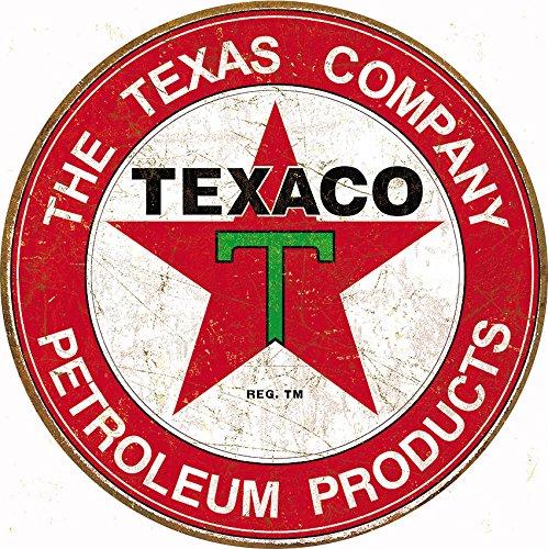 Tin Signs TSN1926 Texaco Filling Station
