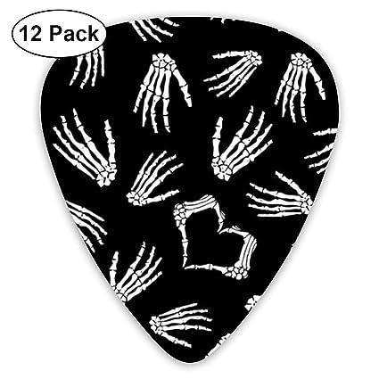 12pcs 0.73mm Acoustic Electric Bass Smooth Guitar Picks Plectrum Guitar Picks Luggage & Bags