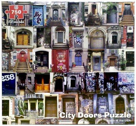 Re-Marks 750 Piece City Doors Puzzle (City Doors Puzzle)