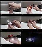 HonsCreat Car Door LED Logo Light Courtesy Step
