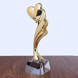 SryWj Trophée en Métal Trophée en Cristal Personnalisé Trophées Coupes