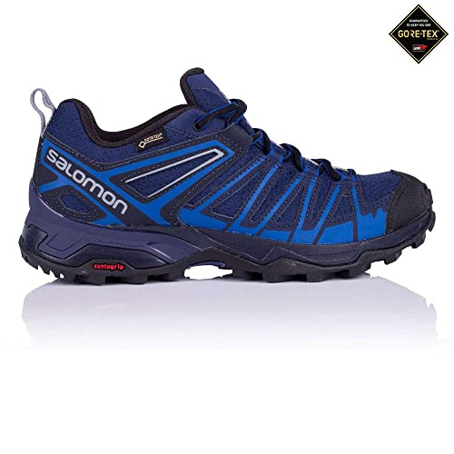 0ee858efc010 Salomon Men s s X Ultra 3 Prime GTX Low Rise Hiking Boots Medieval Nautical  Blue Alloy