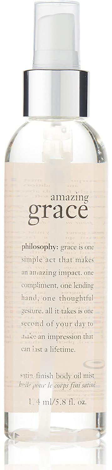 Philosophy Amazing Grace Satin-Finish Body Oil Mist, 5.8 Ounce