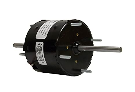 Fasco D137 3.3-Inch Diameter Shaded Pole Motor, 1/30-1/65 HP, 115 Volts, on