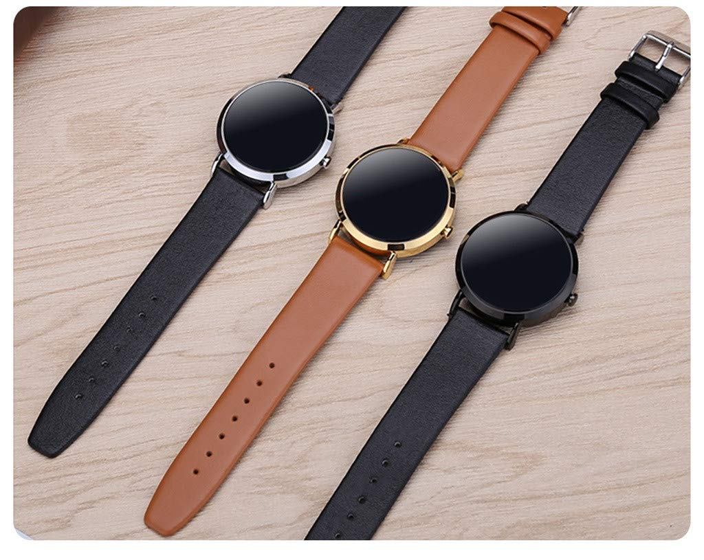 For iOS Android, Waterproof Sport Smart Watch Fitness Activity Blood Pressure Heart Rate Sleep Monitoring Smart Bracelet (D) by YNAA (Image #4)