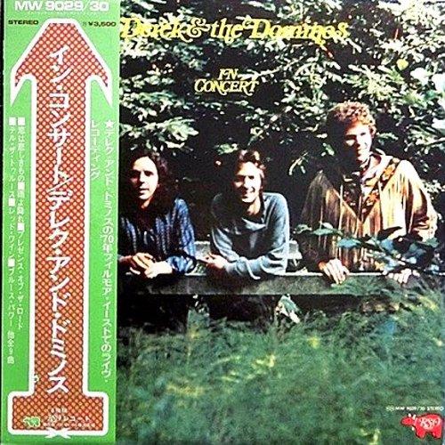 Derek & the Dominos In Concert - Japan Import - with Obi Strip