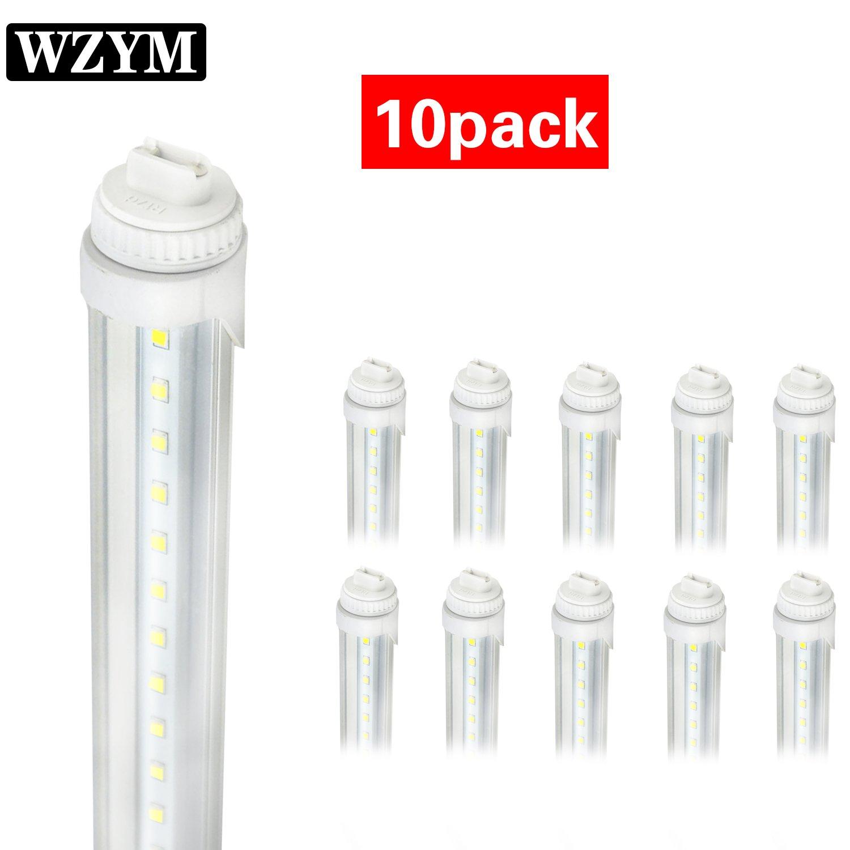 WYZM R17D 4FT 20W F48T12/CW/HO Straight T12 Fluorescent LED Tube Light Bulb for Vending Cooler Freezer Replacement Bulb (10-Pack 5500k)