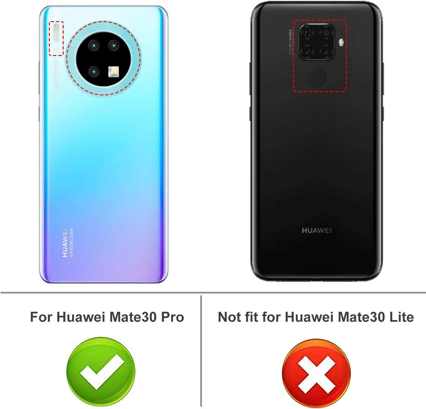iBetter Diseño para Huawei Mate 30 Pro Funda, Fina de Silicona ...