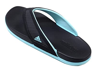8066b63256ed4 adidas Womens adilette CF+ Yoga   Summer Sandals Black   Mint Size 7 ...