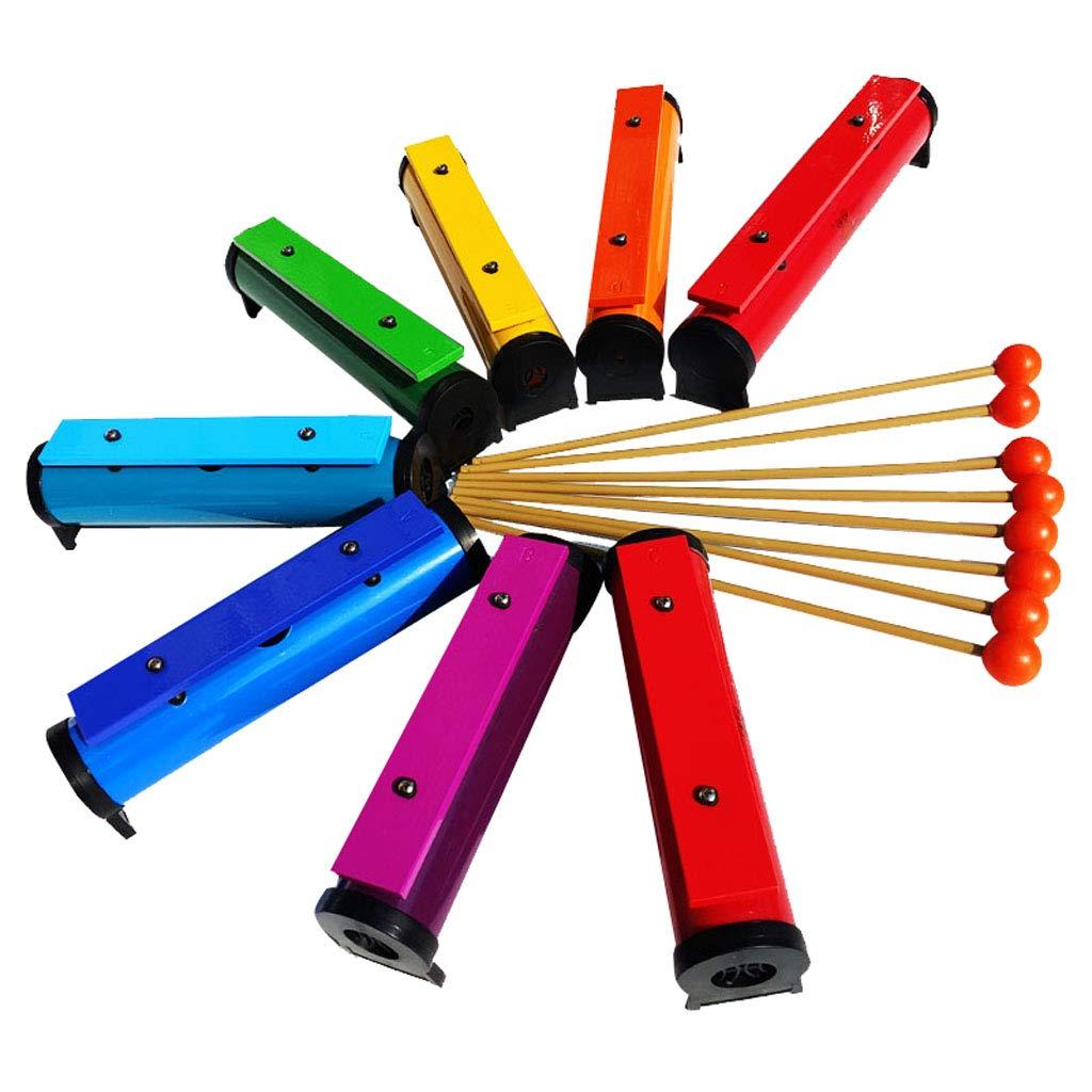 【税込?送料無料】 F 組み立て Fityle 卓上木琴 プロ シロホン 8音 木琴 DIY プロ 組み立て DIY バッグ、マレット付き 贈り物 B07LCCPH16, 贈物広場:759e8106 --- a0267596.xsph.ru