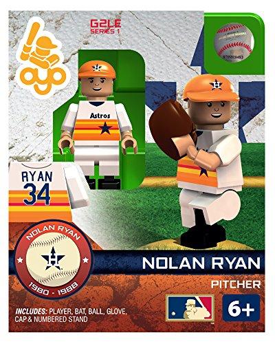 Nolan Ryan MLB Houston Astros Hall of Fame Oyo G1S1 Minifigure