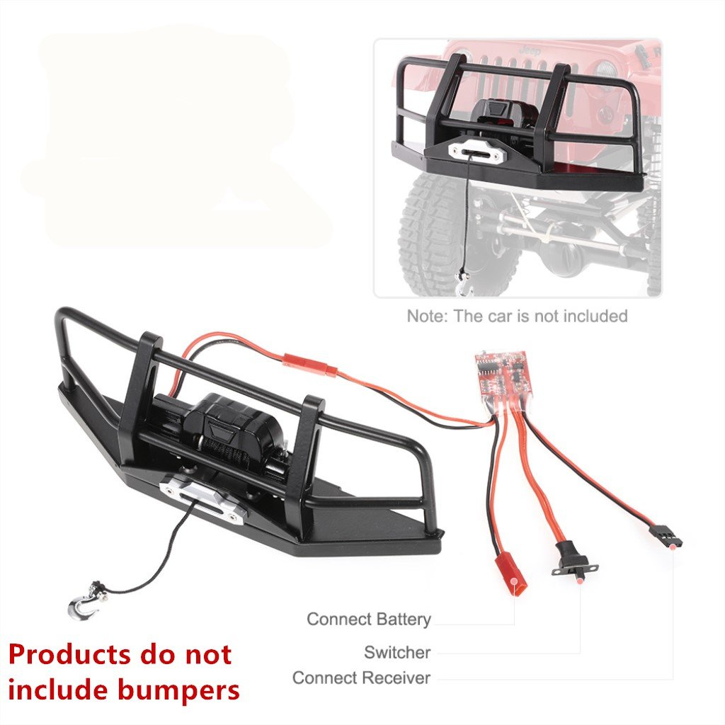 Homyl Automatic Crawler Winch Control System for 1:10 Car Truck Off-road SUV Parts by Homyl (Image #4)