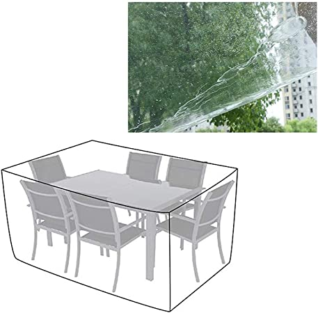 AGLZWY-Jardín Funda Muebles Transparente Lona Alquitranada Patio Silla De Mesa Sofa Clima Protector, 31 Tamaños, Personalizable (Color : Clear, Size : 160x130x90cm): Amazon.es: Hogar