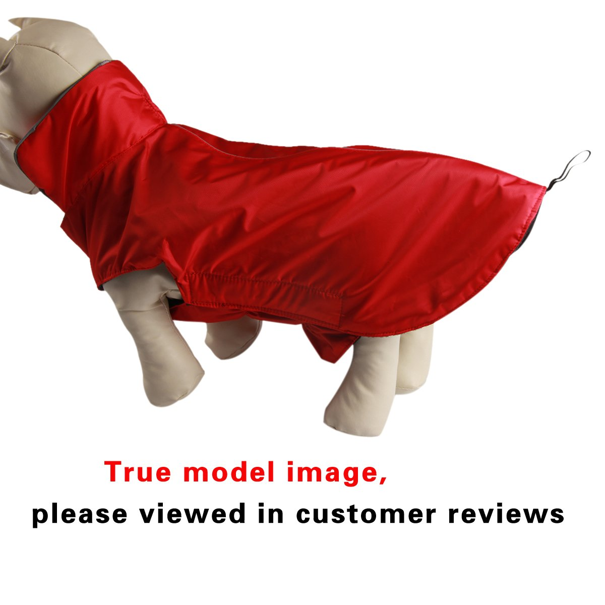 JoyDaog Cappottino in pile rivestito per cani arancione riflettente impermeabile giacca calda per linverno e luso allaperto