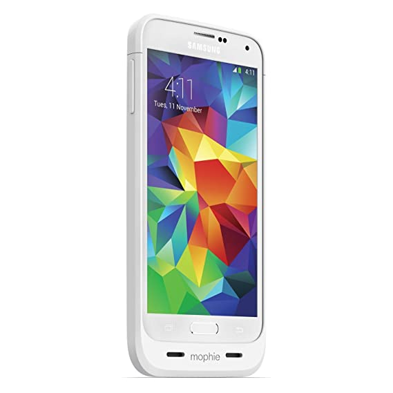sports shoes 7d3a1 bba06 mophie juice pack for Samsung Galaxy S5 (3,000mAh) - White