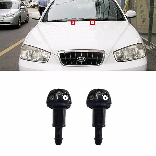 Ventana limpiaparabrisas trasero para Hyundai 2001 - 2006 Elantra Avante XD OEM Partes: Amazon.es: Coche y moto