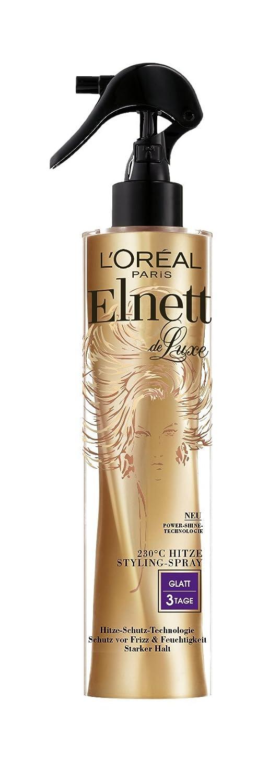 l oreal paris elnett de luxe hitze styling spray glatt 2er pack