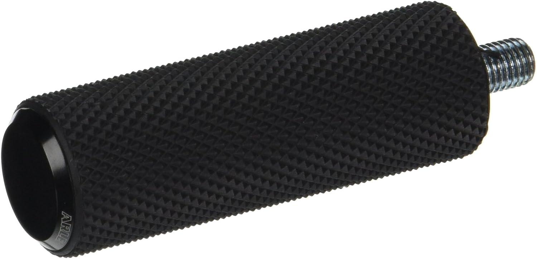 Arlen Ness 07-927 Black Fusion Male-Mount Footpeg And Shift Peg