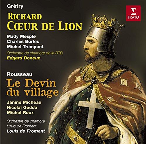 Price comparison product image Gretry: Richard Coeur De Lion / Rousseau: Le Devin du Village