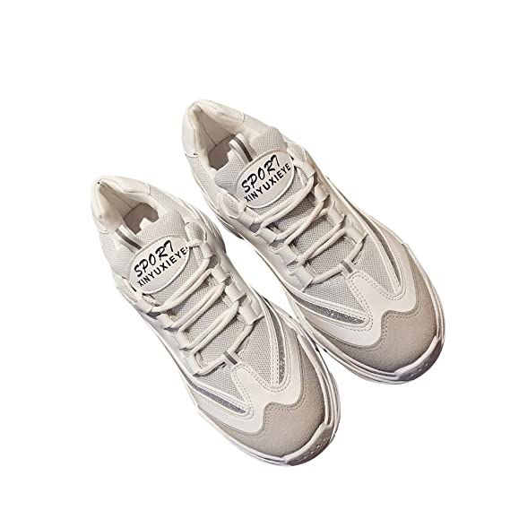 Amazon.com: 💕 Ourhomer 💕 Clearance Sale! Womens Heels Platform Casual Shoes Wild Women Leisure Black & White Letters Shoes: Clothing
