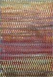 Cheap Unique Loom Outdoor Collection Wavy Abstract Transitional Indoor and Outdoor Multi Area Rug (5′ x 8′)