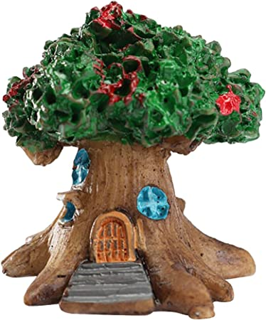2pcs N//hfjeigbeujfg Miniature Fairy Garden 2Pcs Resin Bridge Miniature Landscape Ornament Garden Bonsai Dollhouse Decor
