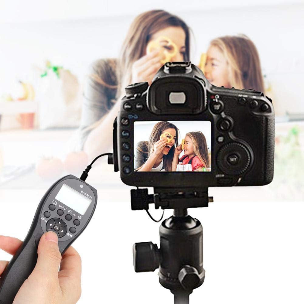 etc FSK 2.4G Wireless Timing Camera Shutter Release Remote Control for Nikon Z6 Z7 D7500 D750 D7200 D7100 D7000 D610 D600 D5600 D5500 D5300 D5200 D5100 D5000 D3300 D3200