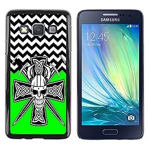 Dragon Case - FOR Samsung Galaxy A3 - Fall in love with you - Caja protectora de pl??stico duro de la cubierta Dise?¡Ào Slim Fit