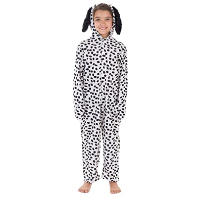 Charlie Crow Dalmatian Costume Lite for Kids 3-11 Years: Clothing