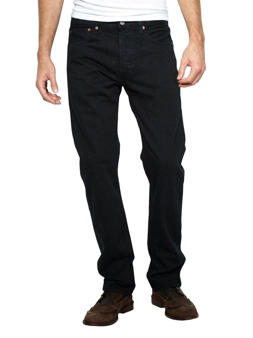 Levi's Straight Leg Jeans 501, Color: Black, Size: 34/30