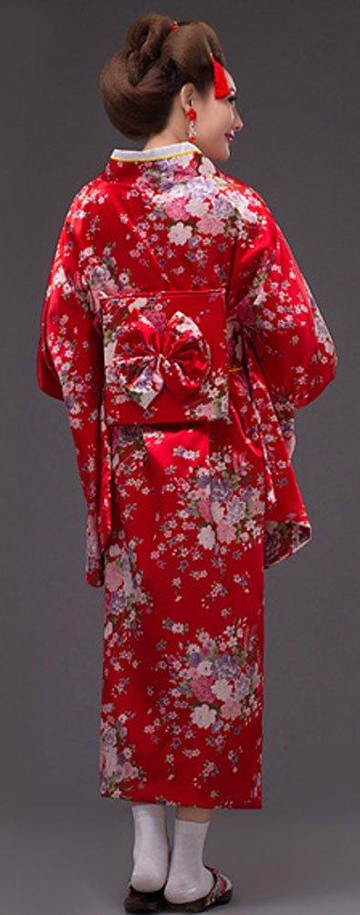 5af977dbb6 Soojun Womens Traditional Japanese Kimono Style Robe Yukata Costumes  B02-SYG-88733-1Black