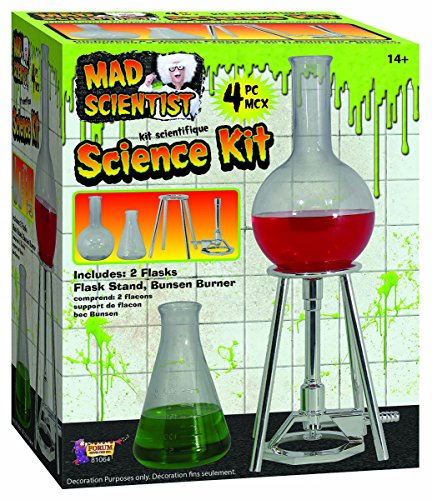 Forum Novelties 81064 Party Decorating Kit, Mad Scientist, One Size -