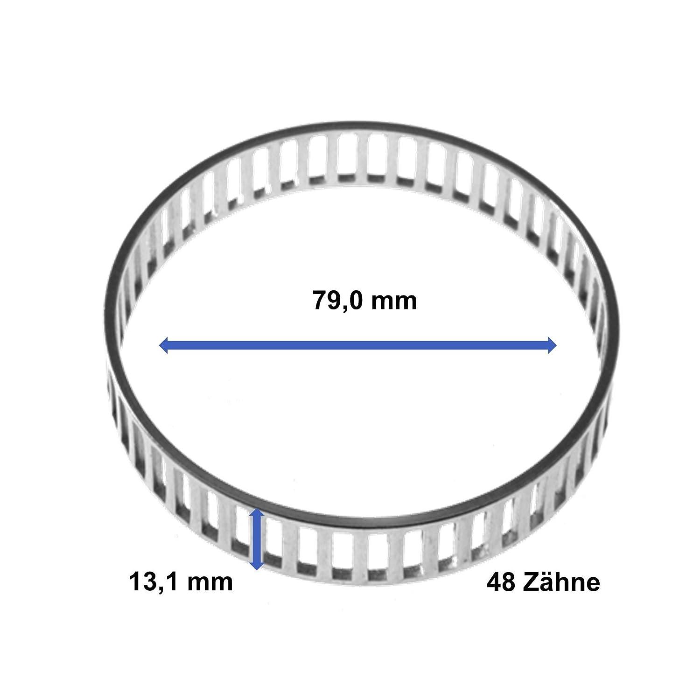 1x Sensorring ABS Hinterachse beidseitig links oder rechts VARIOUS