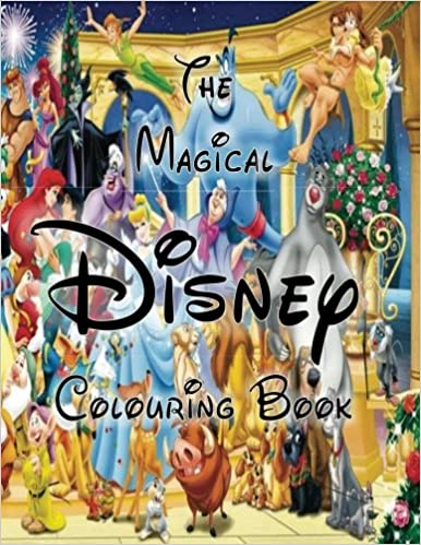The Magical Disney Colouring Book: D A Publishing: 9781548108465 ...