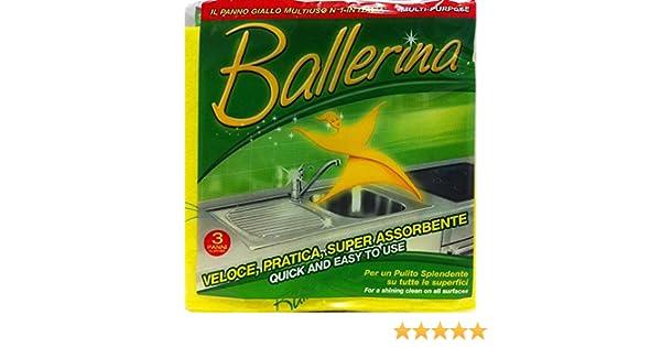 Ballerina Bayeta amarilla 15 paquetes de 3/unidades Vim