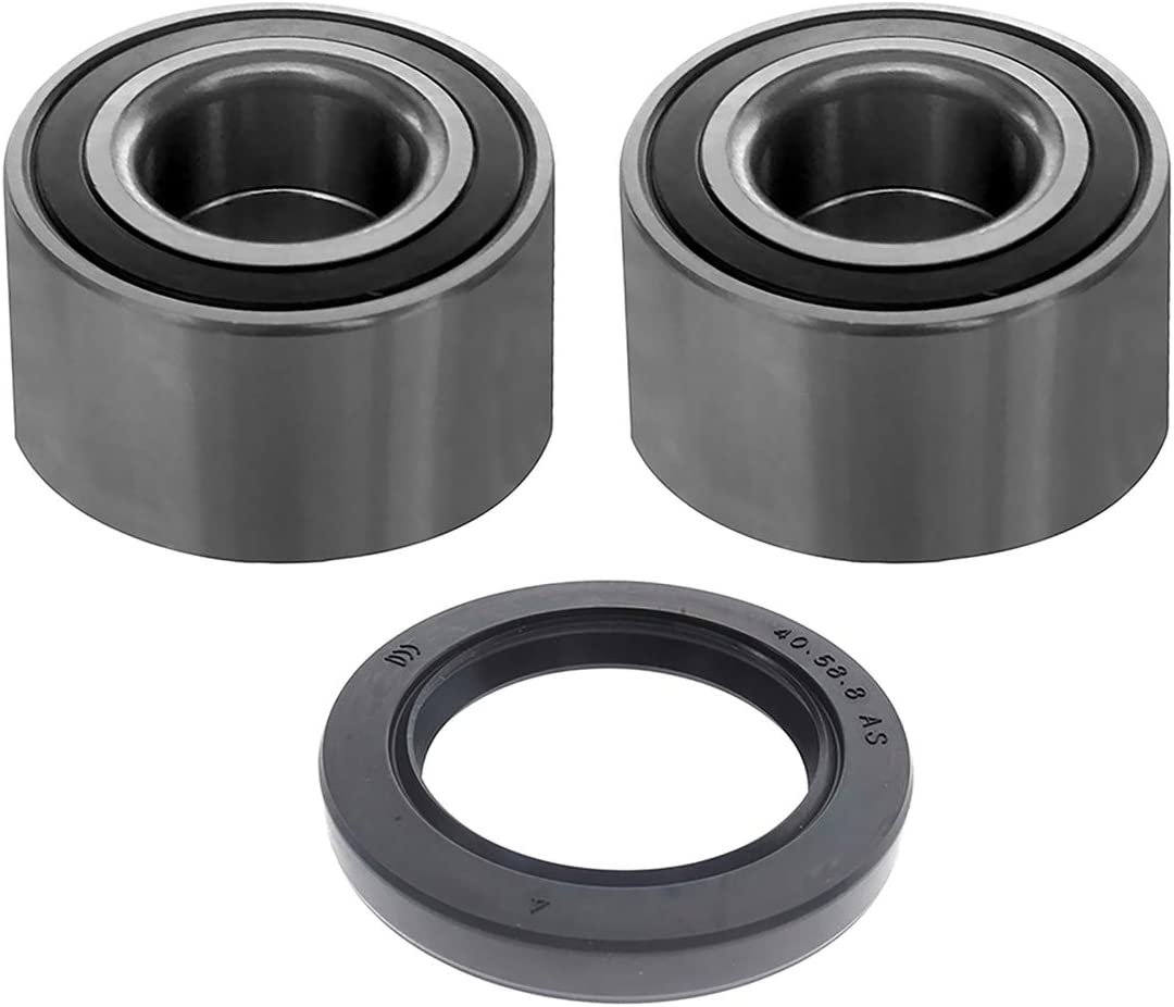 Front /& Rear Wheel Bearings /& Seal Compatible with Can-am Commander Maverick Defender