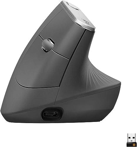 Logitech - MX Vertical - Mouse Ergonómico Inalámbrico