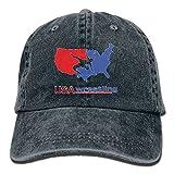 FBGVFD USA Wrestling Logo Baseball Caps Classic Designs Trucker Hats for Adults