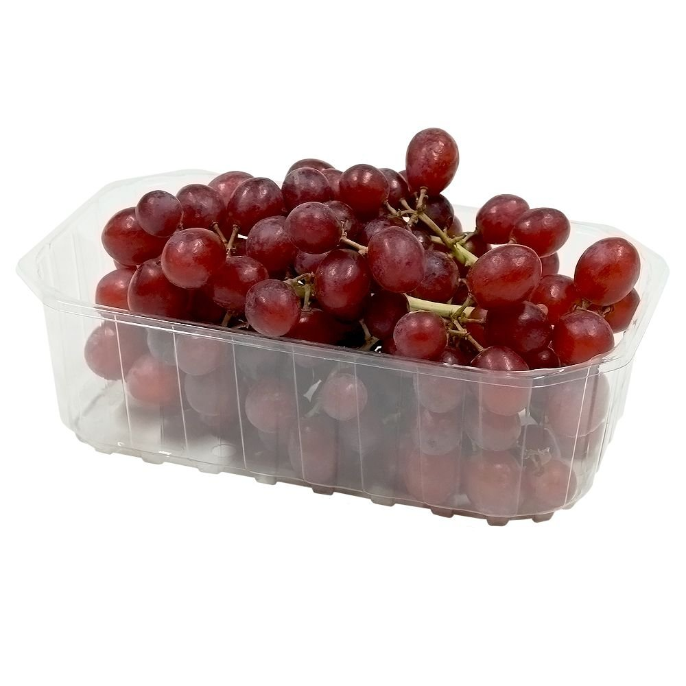 Ling Transparent box for berries 1000ml/1L height 58mm, 100pcs/pack