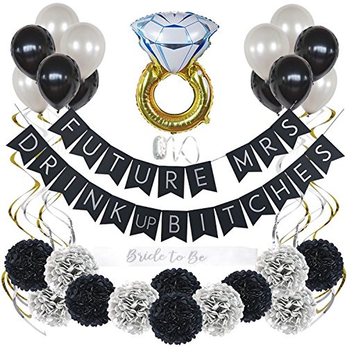 Bachelorette Party Decorations Kit Bridal Shower Supplies with