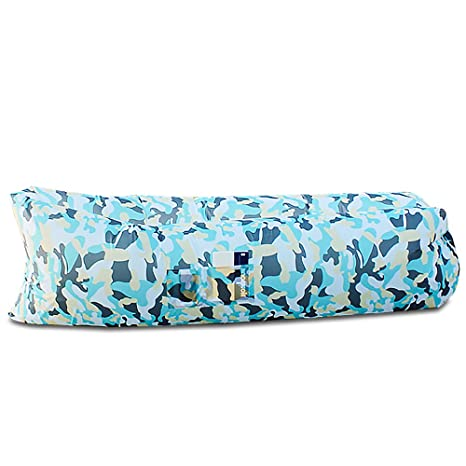 amztolife inflable tumbona puf de saco de dormir impermeable ...