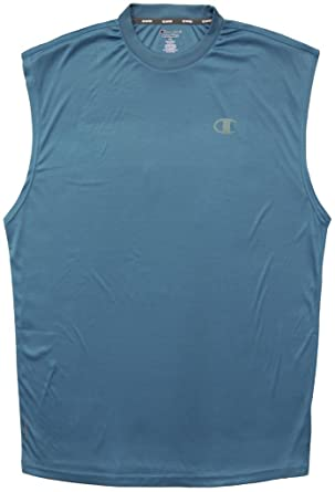 afbcbb497af62 Champion Vapor Performance Muscle Tee HYDRO Blue 4XLT  750C at Amazon Men s  Clothing store